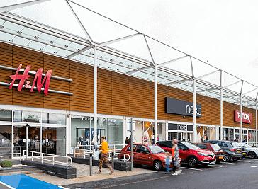 Crown Wharf Retail Park - Walsall
