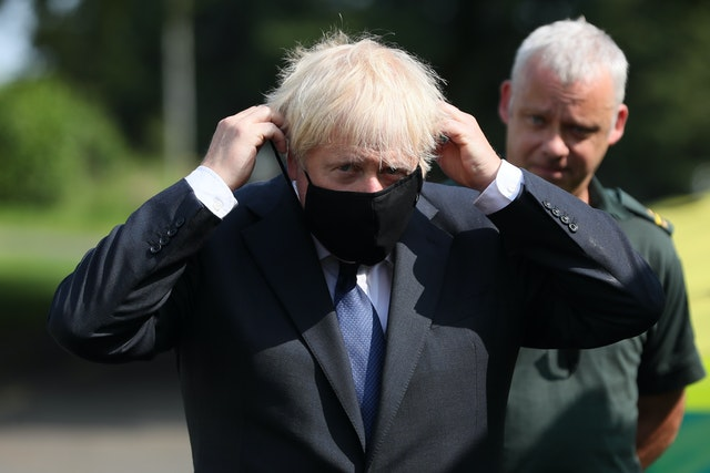 Boris Johnson visits Belfast